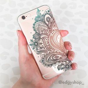 Paisley Flower iPhone Case